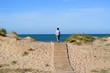 el niño esta en El paseo al mar