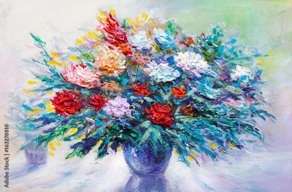 Kwiaty olejne <span>plik: #163278810 | autor: serge-b</span>