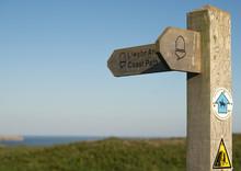 Pembrokeshire Coast Path Sign ...