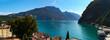 Riva del Garda, Gardasee, Italien, Panorama