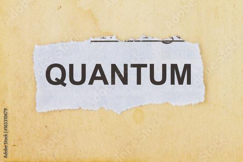 Quantum physics Wallpaper Mural