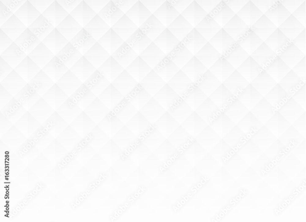 Fototapeta Abstract white square background, vector