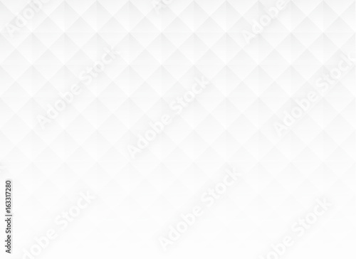 Abstract white square background, vector