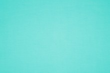 Turquoise Colored Canvas Fabri...