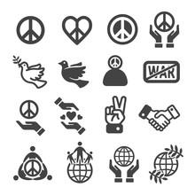 Peace Icon Set