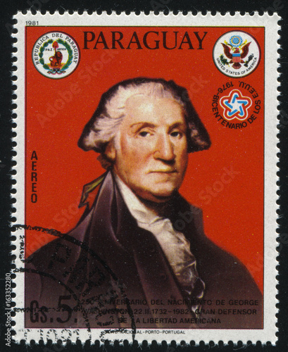 Photographie  portrait of George Washington