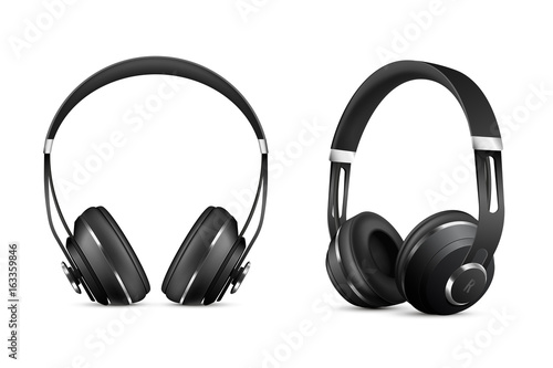 Photo  Wireless Headphones Set