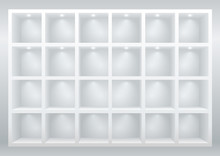 White Cell Furniture Or Displa...
