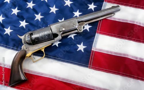 Fotografie, Obraz  Old Western Pistol.