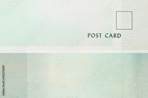 geometrische Formen auf Papier - Vintage Postkarten Design – kaufen ...