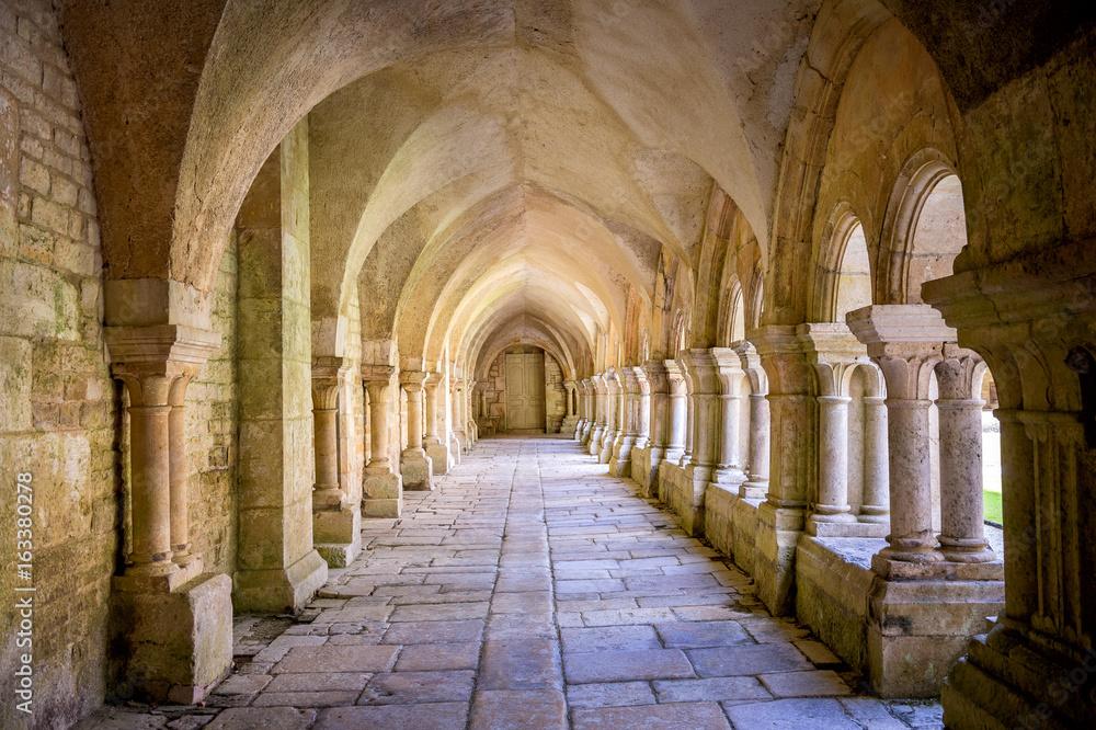 Fototapety, obrazy: Abbey of Fontenay. Burgundy, France