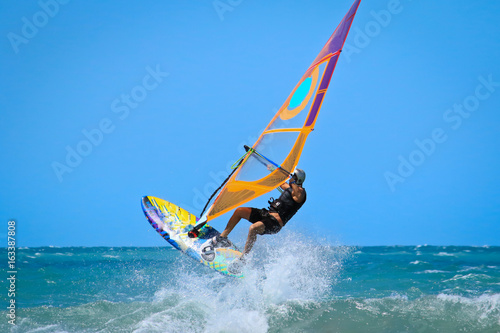 one sportman windsurfer