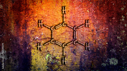 Photo Benzene Chemical Structure