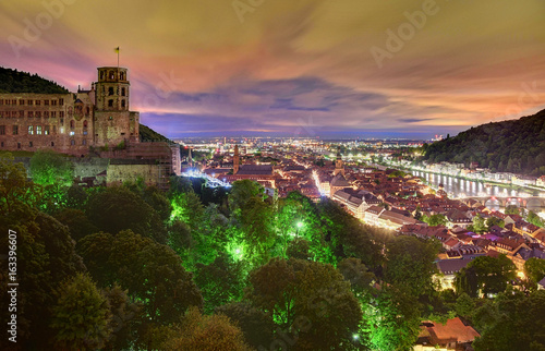 Garden Poster Napels Morgengrauen in Heidelberg