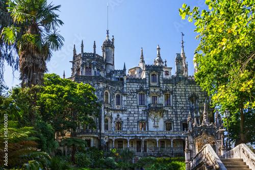 Palace Quinta da Regaleira, Sintra, Portugal  Palace with symbols