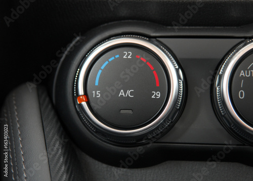 automatic Car Air Conditioner Canvas Print