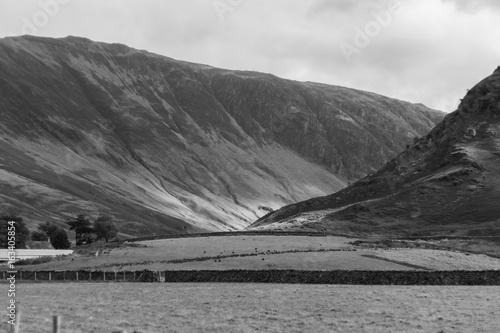 Keuken foto achterwand Grijze traf. Buttermere, Lake District