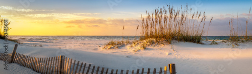 Spoed Foto op Canvas Zonsondergang Pensacola Beach Sunrise