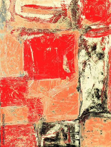 abstrakcja-czerwone-prostokaty-z-elementami-marmuru