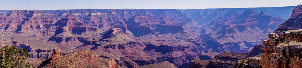 Grand Canyon National Park, Arizona, USA. Journey through the wild west of the USA