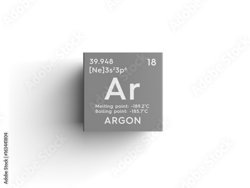 Argon Wallpaper Mural