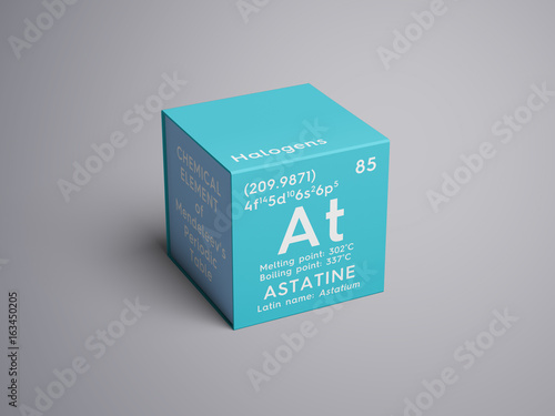 Astatine Wallpaper Mural