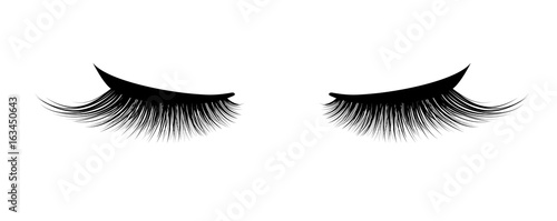 Fototapeta Eyelash extension