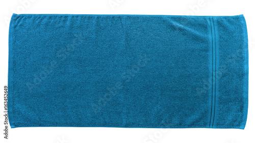 Fotografia  Blue beach towel