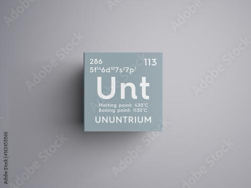 Valokuvatapetti Ununtrium