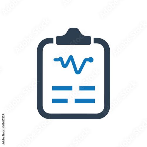 Fotografía  Medical Report Icon