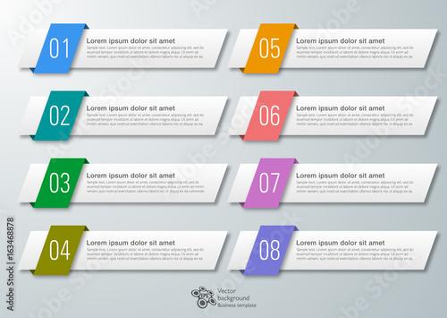 Fototapeta Web Button and Headline Design #Vector Graphics  obraz