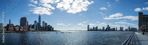 Photo  Views of the financial district from Tribeca (NYC)