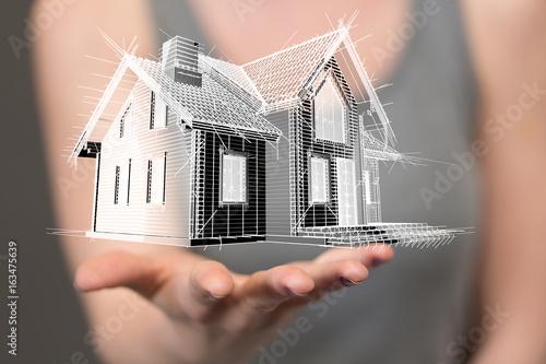 Fotografie, Obraz  bequem smart home