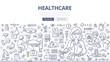 Healthcare Doodle Concept