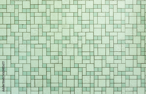 Vintage seamless 1950s bathroom tile background Buy this stock