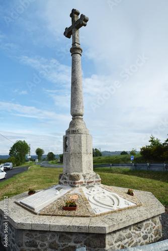 Poster Monument Calvaire en Vendée.