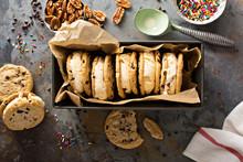 Ice Cream Sandwiches With Choc...