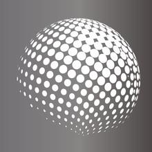 Vector Sphere. Abstract Techni...