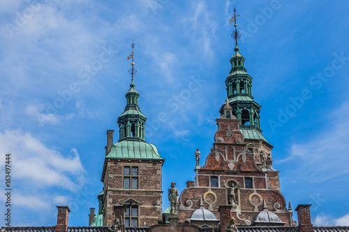 Photo Architectural Details of Medieval Rosenborg Castle
