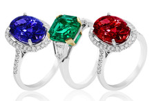 Emerald, Sapphire And Ruby Rin...