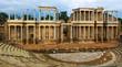 Antique Roman Theatre in Merida