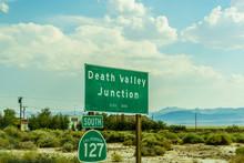 Desert Highway To Death Valley...