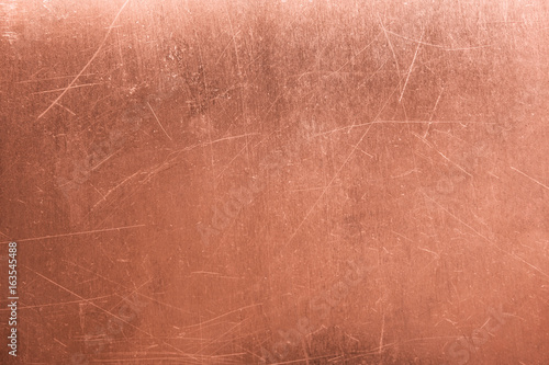 Valokuva old metal plate, brushed texture copper, bronze background
