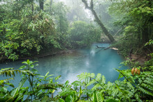 Rio Celeste Blue Acid Water, C...