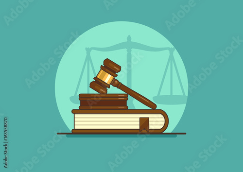 Cuadros en Lienzo judge gavel