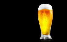 Beer. Glass Of Cold Beer With ...