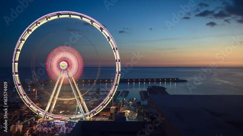 Fotografia Panoramic wheel of Salerno