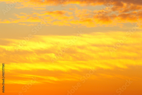Fototapety, obrazy: Dramatic sky.Background of the sunset.