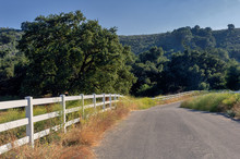 Southern California Country Road