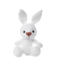 Little Crochet Bunny Toy Isola...